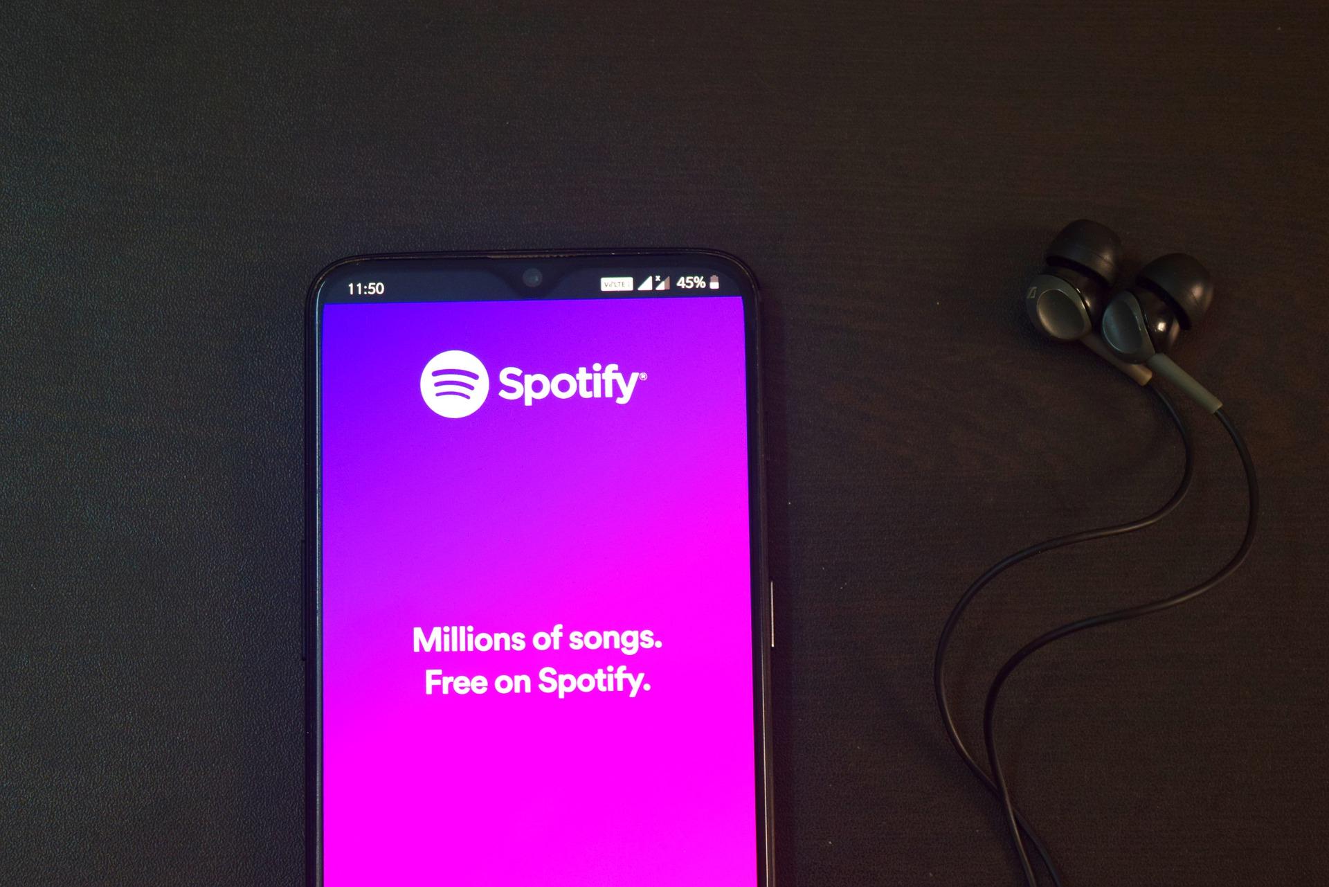 Spotify Werbung